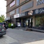 Pipera la Erou Iancu Nicolae, cu restaurantele Brasserie 41, Starbucks Coffee, Tecadra si altele