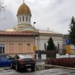 Strada General Berthelot, cu Biserica Popa tatu, cafeneaua Stay, cu Tasty Fish, Chez Marie Garden