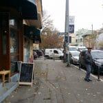 Strada Polona din Bucuresti, cu Acuarela, Portobello si alte restauramte si cafenele 16