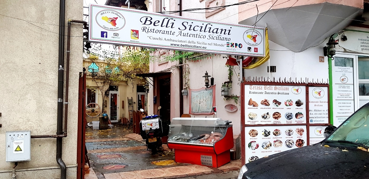 Belli Siciliani - ristorante autentico siciliano in Bucarest