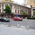 Calea Victoriei la Casa Centrala a Armatei cu Cercul Militar National