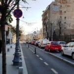 Calea Victoriei la Palatul Cantacuzino