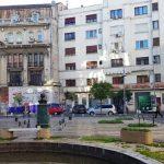 Calea Victoriei la teatrele Majestic si Constantin Tanase, cu hotelul Ramada Majestic