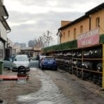 Calea Vitan, cu pizzeria restaurant Borgo Margherita