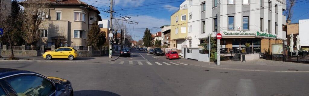 Cotroceni la intersectia Eroilor - Carol Davila, cu restaurantul La Terrazza