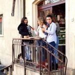 Fetele vesele de la Belli Siciliani, pasticceria siciliana pe strada Matasari in Bucuresti