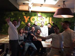 Interviu Restocracy cu Chef Vova de la restaurantul Yoshi Sushi & Teppanyaki