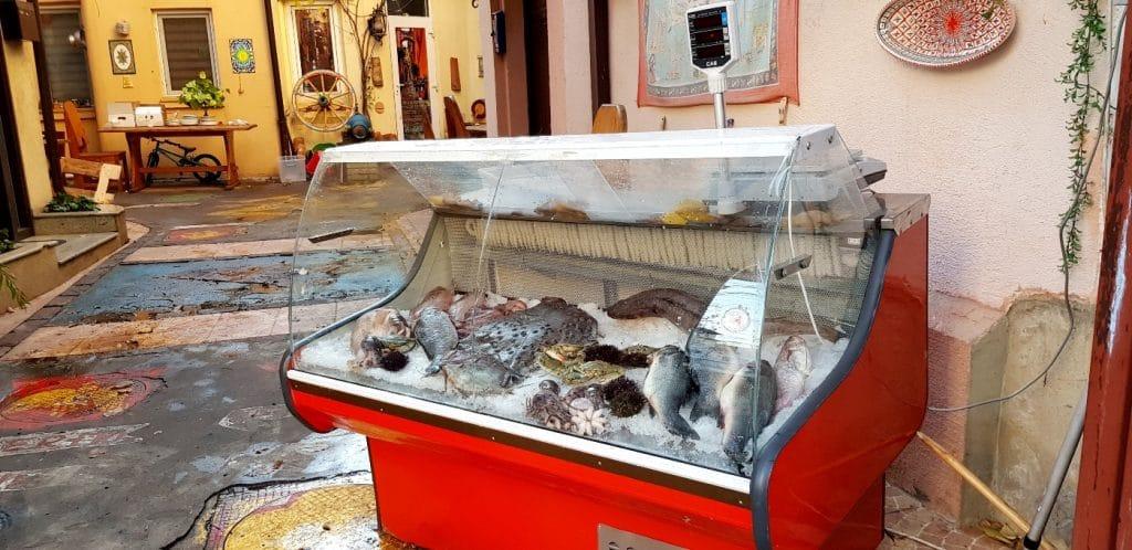 Lada de peste de la Belli Siciliani, restaurantul italian din strada Matasari
