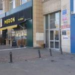 Piata Victoriei din Bucuresti, cu cafeneaua Meron