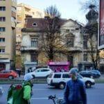 Piata Victoriei si Lascar Catargiu, cu Trattoria Buongiorno si High Life Bistro