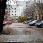 Strada Mihail Eminescu, la intersectia cu Viitorului, cu restaurantul Blue Margarita