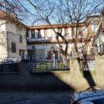 Strada Sandu Aldea, cu restaurantul libanez Coin Vert