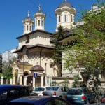 Biserica Boteanu, strazile Nicolae Golescu si Franklin, in spatele Atheneului Roman