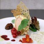 Foie Gras  la restaurantul AV8 din Piata Victoriei