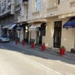 In jurul Ateneului Roman, cu Sushi Room, Chocolat, caju, Le Bistrot Francais