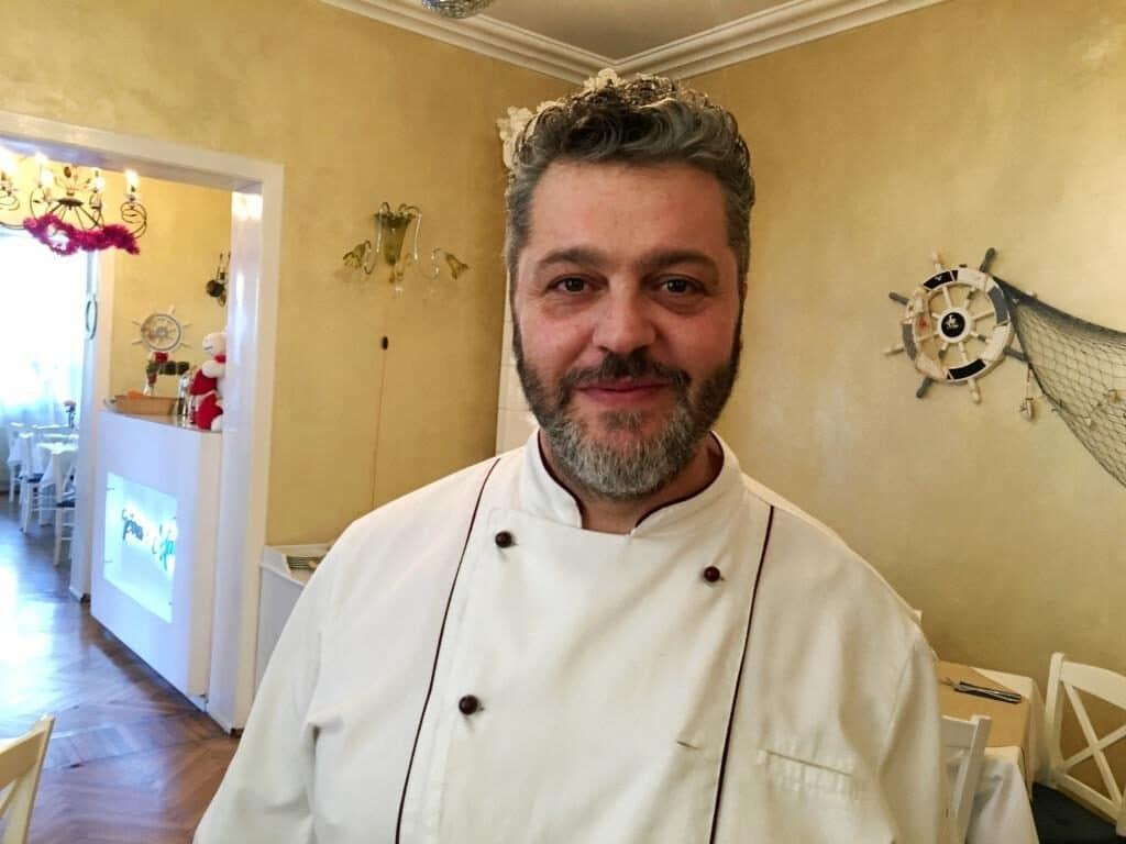 Luca, cheful italian de la restaurantul Terra e Mare