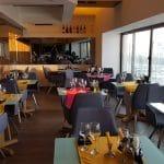 Vu's Rooftop, restaurant panoramic la Piata Unirii pe malul Dambovitei