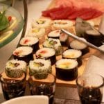 Ginger Sushi Bar, restaurant japonez la Radisson Blu Hotel in Bucuresti