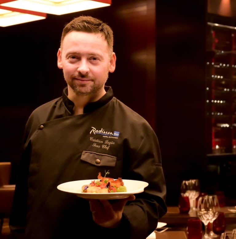 Cristian Lazar, Head Chef