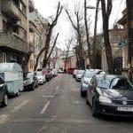 Strada Alexandru Donici, strada Viitorului cu restaurantul Unico Vero