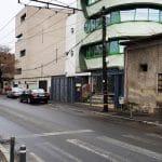 Strada Matei Voievod din Bucuresti, cu restaurantul DaDa