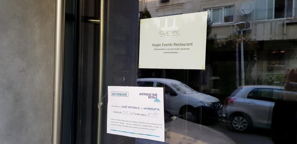 Atypic, restaurant in Piata Floreasca destinat exclusiv evenimentelor