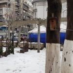 Bulevardul Magheru la Piata Romana, cu restaurantul La Placinte