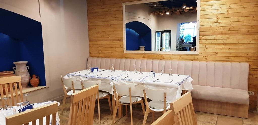 Kos restaurant grecesc traditional la piata victoriei in for Ristorante kos milano