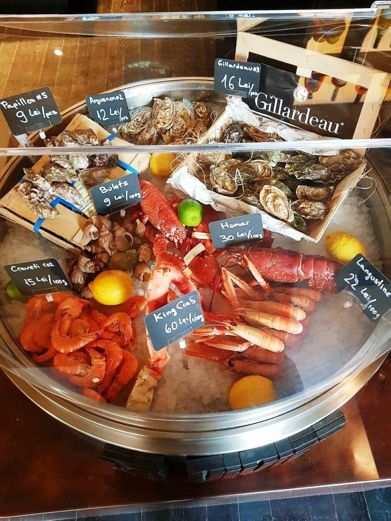 Le Vivier, restaurant de peste, fructe de mare, oyster bar, delicatese