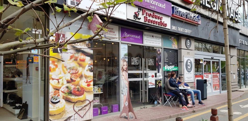 5 to Go, mini cafenea la Mario Plaza in Piata Dorobantilor