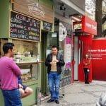 Bazuro Cafe, cafenea minuscula in Piata Amzei din Bucuresti