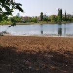 Bulevardul, Parcul si Lacul Tei, cu restaurantul The President