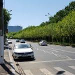 Calea Floreasca din Bucuresti, pe la restaurantele Diesel si Agape