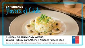 Chilean Gastronomy Weeks