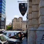 Piata Revolutiei din Bucuresti, cu Restaurantul Medieval Excalibur