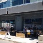 Cartierul de business Pipera, cu Bacania Veche - Casa Sperantei si Starbucks Cafe