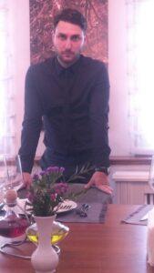 Eugen Tudosie, managerul restaurantului Mesogios Primaverii