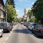 Strada Ion Neculce din Bucuresti, cu restaurantul Gastronomika