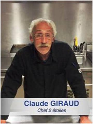 2 Michelin Star Chef Claude Giraud