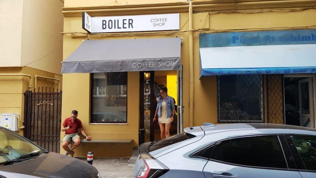Boiler Coffee Shop, cafenea mica in zona Caderea Bastiliei