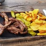 Flying Pig, restaurant de carne in Barbu Vacarescu, langa Promenada Mall