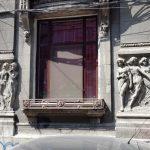 Piata Rosetti cu casa lui Mircea Eliade si mini-bistroul Papila