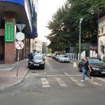 Strada Batistei, la Biserica Batistei si restaurantul cu autoservire Batistei