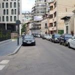 Strada George Enescu, cu Savart, Primus, Terminus, Pow Wow si alte localuri
