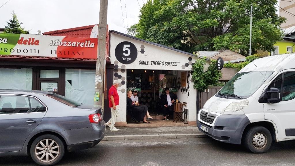 5 to Go Piata Floreasca, mini cafenea