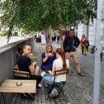 Coffee Up, cafenea boema in Piata Universiattii din Bucuresti