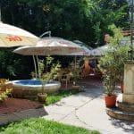 London Garden, terasa cafenea in Piata Amzei, langa Tonka
