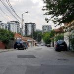 Strada Fabrica de Glucoza, spre Hotel Caro