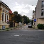Strada Romulus in dreptul berariei La Nenea Iancu