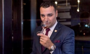 Alexandru Dan - somelier, F&B Manager al Ston Easton Park Hotel